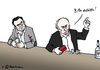 Cartoon: Tsipras und Putins Geld (small) by Pfohlmann tagged karikatur,cartoon,2015,color,farbe,griechenland,tsipras,russland,putin,geld,geldbörse,portemonnaie,geldbeutel,kneipe,bar,schuldenkrise,reformen,eu,europa,schuldenberg,schulden,geldquelle