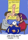 Cartoon: Penislesen (small) by EASTERBY tagged fortune,teller,future