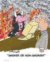Cartoon: Smoke Signals 29 (small) by EASTERBY tagged smoking,health,devil