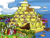 Cartoon: Babel Cake (small) by Munguia tagged babel,tower,pieter,brueghel,cake,baker