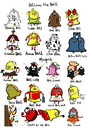 Cartoon: Bell Bell Bell (small) by Munguia tagged bell word play graham annabell