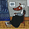 Cartoon: Big bad wolf (small) by Munguia tagged james mcneill whistler arrangement in gray and black whistlers mother mom mama little red riding hood