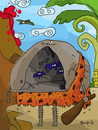 Cartoon: Cave Man (small) by Munguia tagged caveman,literal,prehistoric,cavernicola