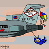 Cartoon: Dangers of Kite Flying (small) by Munguia tagged beastie,boys,licensed,to,ill,cover,album,parody