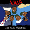 Cartoon: EENIE MEENEI MINEY MOE (small) by Munguia tagged nwa cover album eazy ice cube dr dre straight outta compton parody spoof mash up