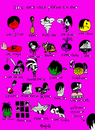Cartoon: Emos (small) by Munguia tagged emo sufijos idioma lenguaje hemo