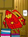 Cartoon: Iron Man (small) by Munguia tagged iron,man,marvel,superheroes,heroes,super,robot,munguia,costa,rica