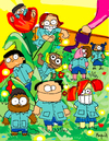 Cartoon: Kinder Garten (small) by Munguia tagged kinder,garten,jardin,de,ninos