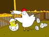 Cartoon: Let me grow up (small) by Munguia tagged chicken,farm,chick,grow,up,shell,overprotective