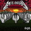 Cartoon: Mecanica (small) by Munguia tagged master of puppets mecanica metallica album cover parody wrench cementery