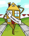 Cartoon: Model House (small) by Munguia tagged house,model,miss,residential