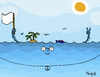 Cartoon: Ocean Pacific (small) by Munguia tagged op,ocean,pacific,oceano,pacifico,mar,sea,literal,cartoon,costa,rica,tico,humor,costarricense,caricatura,munguia,calcamunguia