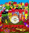 Cartoon: Peppers (small) by Munguia tagged beatles sgt pepper lonely hearts club band cover album parodies parody chili