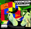 Cartoon: Rubik Cube (small) by Munguia tagged ice cube rubik puzzle album cover parodies parody famous spoof version rap hip hop cd
