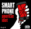 Cartoon: Smart phone Vs American Idiot (small) by Munguia tagged green day american idiot cover album parody smartphone phone broken doh