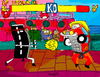 Cartoon: Street Fighter (small) by Munguia tagged street,fighter,cartoon,video,game,munguia