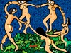 Cartoon: Take your clothes off (small) by Munguia tagged the dance henri matisse nude naked famous paintings parodies