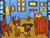 Cartoon: Van Doghs Room (small) by Munguia tagged dog,van,gogh,dogh,room,munguia