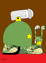 Cartoon: War Snail (small) by Munguia tagged war snail soldier caracol shell salt sal killer enemy fight fighter hate