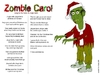 Cartoon: Zombie Christmas Carol (small) by mdouble tagged cartoon,christmas,zombies,santa,song,funny,carol