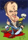 Cartoon: Quentin Tarrantino (small) by Martin Hron tagged glorious,basterd