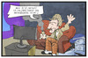 Cartoon: 1000 x Tatort (small) by Kostas Koufogiorgos tagged karikatur,koufogiorgos,illustration,cartoon,tatort,sherlock,homes,john,watson,fernsehen,ard,krimi,jubiläum