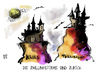 Cartoon: Die Zwillingstürme sind zurück (small) by Kostas Koufogiorgos tagged september11,new,york,terrorismus,world,trade,center,wtc,twin,towers,dominoeffekt,al,qaida,usa,2001,september,krieg,zwillingstuerme,karikatur,kostas,koufogiorgos