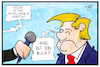 Cartoon: Fire and Fury (small) by Kostas Koufogiorgos tagged karikatur,koufogiorgos,illustration,cartoon,fire,fury,buch,usa,enthüllung,wolff,journalist,interview,trump
