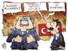 Cartoon: Kommunalwahl Türkei (small) by Kostas Koufogiorgos tagged karikatur,koufogiorgos,cartoon,illustration,erdogan,türkei,kommunalwahl,wahl,gegenstimme,votum,facebook,twitter,youtube,zensur,korruption,politik,medien,social,network