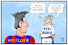 Cartoon: Madrid übernimmt (small) by Kostas Koufogiorgos tagged karikatur,koufogiorgos,cartoon,illustration,madrid,barcelona,trainer,fussball,club,messi,clasico,katalonien,unabhängigkeit,separatismus,europa