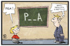 Cartoon: PISA-Studie (small) by Kostas Koufogiorgos tagged karikatur,koufogiorgos,illustration,cartoon,pisa,schüler,lehrer,studie,bildung,schule,wissen,test,ländervergleich
