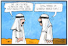Cartoon: Rüstungsexporte (small) by Kostas Koufogiorgos tagged karikatur,koufogiorgos,illustration,cartoon,saudi,arabien,rüstung,waffen,export