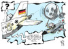 Cartoon: Türkei (small) by Kostas Koufogiorgos tagged türkei,syrien,armenien,deutschland,westerwelle,flugzeug,flugraum,konflikt,karikatur,kostas,koufogiorgos