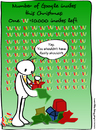 Cartoon: Google invites this Christmas (small) by Gregg from GriDD tagged gregg,gridd,google,invites,christmas,gifts