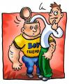 Cartoon: Boyfriend (small) by illustrator tagged boyfriend,gay,search,inside,reaching,probing,searching,guys,gays,