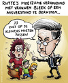 Cartoon: Prime Minister Rutte in trouble (small) by illustrator tagged prime,minister,rutte,women,vrouwen,kinderen,kleintjes,misvatting,verhouding