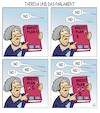 Cartoon: Brexitpläne (small) by JotKa tagged brexitverhandlungen,brexit,eu,gb,uk,england,brüssel,london