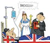 Cartoon: Hardliners letzte Worte (small) by JotKa tagged hardliner,brexitiers,brexit,uk,england,eu,london,brüssel,krankenhaus,leben,tod,pfarrer,krankenschwester