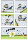 Cartoon: Looping (small) by JotKa tagged looping,kunstflug,flugschau,flugtag,attraktionen,nervenkitzel,risiko,flugzeug,zuschauer