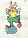 Cartoon: Circus1 (small) by grega tagged circus,clown,fun
