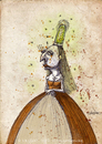 Cartoon: Lady Aluid (small) by CIGDEM DEMIR tagged lady woman firefly