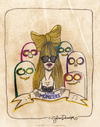 Cartoon: Little Monsters (small) by CIGDEM DEMIR tagged lady gag little monsters