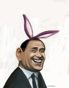 Cartoon: silvio berlusconi (small) by AkinYaman tagged silvio,berlusconi