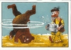 Cartoon: Modern bear dance (small) by Dluho tagged bear