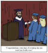 Cartoon: Avoiding the Real World (small) by Humoresque tagged graduation,graduations,graduate,graduates,school,schools,college,colleges,university,universities,grad,student,students,post,growing,up,doctorates,phd,phds,degree,degrees,academia,real,world,avoidance,avoid,avoiding,lifestyle