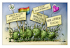 Cartoon: stop rassismus! (small) by kurtu tagged virus