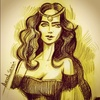 Cartoon: Belle (small) by Amal Samir tagged girls,painting,pencil,drawings,new