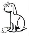 Cartoon: Barf. (small) by Peter Russel tagged dog barf