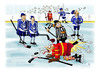 Cartoon: Ice hockey (small) by paraistvan tagged ice,hockey