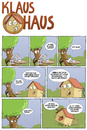 Cartoon: Klaus Haus (small) by Tobias Wieland tagged klaus,haus,tier,haustier,cafe,kaffee,baum,park